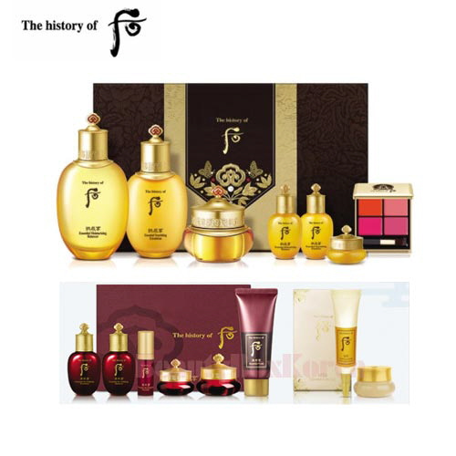 THE HISTORY OF WHOO Gongjinhyang Set [Monthly Limited -APRIL 2018]